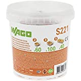 WAGO - Seau de 200 bornes de connexion automatique S221 2,3 et 5 entrées