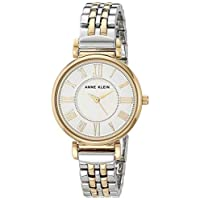 Anne Klein Women's AK/2159SVTT Two-Tone Bracelet Watch