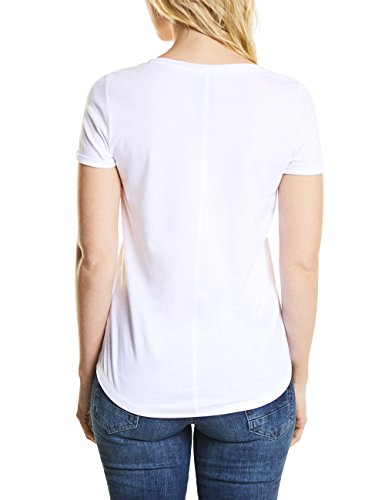 Cecil Damen T-Shirt Weiß (White 30000)