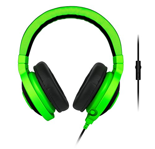 Razer Kraken Pro Analog Gaming Headset for PC and Playstation 4, Green  available at amazon for Rs.9930