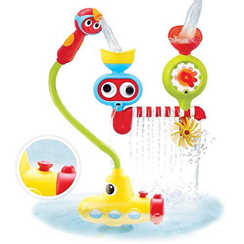 Yookidoo Bath Toy Submarine Spray Station with A Water Pumping System and Hand Shower Best Toy for Babies and Toddlers