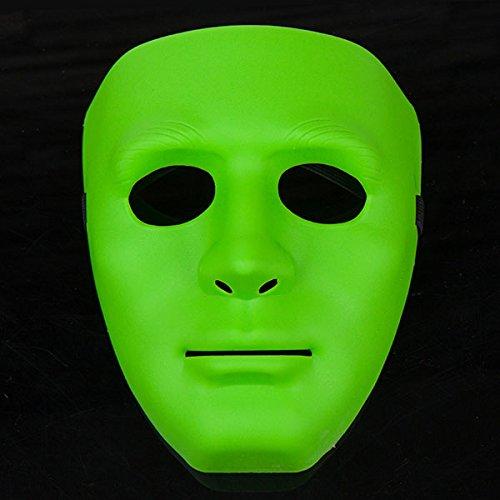 HELEISH Frauengesichtsmaske-Maskerade-Partei-Halloween-Masken der Hip-Hop-Männer Motorradzubehör