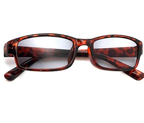 Damen Herren Lesebrille Sonnenbrille +1.5 +2.0 +3.0 +4.0 Slim Sun Readers Perfekt für den Urlaub Retro Vintage Brille MFAZ Morefaz Ltd (+2.00 Sun, Panther)