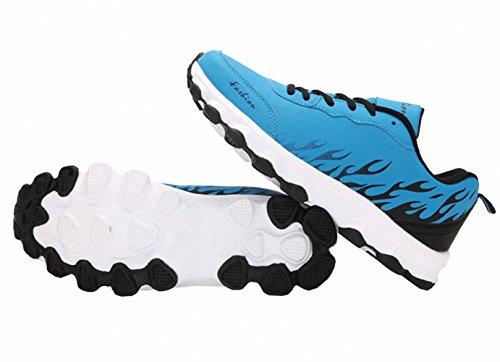 Ben Sports Damen Herren Sneaker Trail Turnschuhe Laufschuhe für Frauen Herren Blau