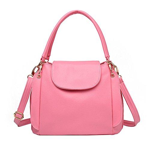 SHUhua - Borsa a tracolla donna pink