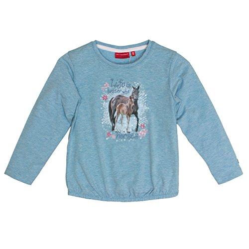 Salt & Pepper Girl's Horses Uni Photo Longsleeve T-Shirt