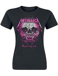 Metallica Wherever I May Roam Camiseta Mujer Negro L