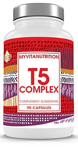 T5 fat burner - 1,5 mese cure / 90 compresse - pillole dimagranti ultra-resistenti - risultati garantiti