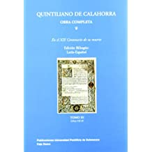 Quintiliano de calahorra, obra completa tomo III