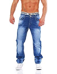 CIPO & BAXX - C-1144 - Regular Slim Fit - dicke Naht - Men / Herren Jeans Hose