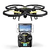 RC Quadrocopter Drohne UDI U818A WiFi FPV WiFi mit 720P HD Kamera (Echtzeit REAL-TIME) Altitude Hode Mode