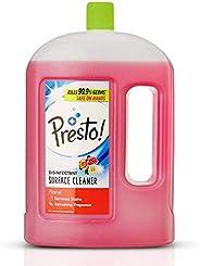 Amazon Brand - Presto! Disinfectant Floor Cleaner Floral, 2 L