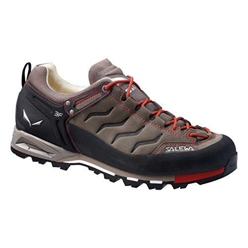 Salewa Ms Mtn Trainer L, Zapatillas de Senderismo Hombre, Marrón/Negro (Bungee Cord/Firebrick...