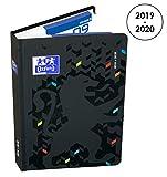 OXFORD 100738299 Magic Agenda Scolaire journalier 2019-2020 1 Jour par Page 352 pages 12x18 Noir