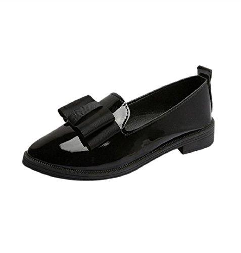 ZEZKT Retro PU Leder Damen Sandalen, Sommer Flache Badesandale Frauen Übergröße Offene Elegante Abendschuhe Casual Outdoor Schuhe Bequeme Hausschuhe Schuhe (35, Schwarz)