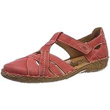 8f27de26307 Amazon.es  sandalias cerradas mujer - Rojo