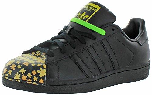 Adidas Superstar Pharrell Williams Supershell Shoes (10, nucleo nero / nero / nero (s83366))