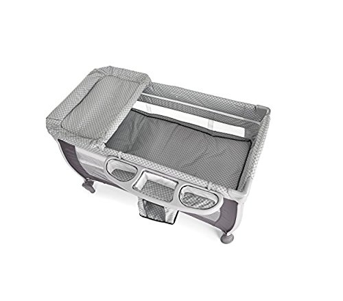 Icoo 607633-Reisebett, Farbe Diamond Grey