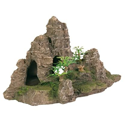 Trixie Rock Formation with Plants, 31 cm 1