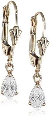 Bijoux pour tous  - Pendientes de oro amarillo