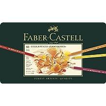 Faber-Castell 110060 - Farbstift Polychromos, 60er Metalletui