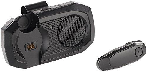 Callstel Kfz Freisprecher: Kfz-Freisprechanlage m. abnehmbarem Headset, Bluetooth 4.0, Multipoint (Freisprechanlage Pkw) Multipoint Bluetooth-headset