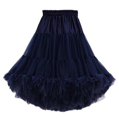 Kostüm Speichern Qualität - FOLOBE Frauen Tutu Kostüm Ballett Tanz Multi-Layer Puffy Rock Erwachsene luxuriöse weiche Petticoat
