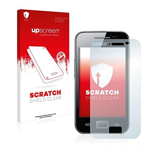 upscreen Pellicola Protettiva Compatibile con Samsung GT-S5830i Protezione Proteggi Schermo - Trasparente, Anti-Impronte