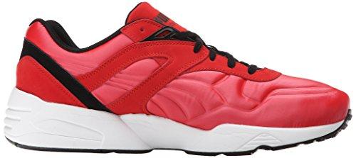 Puma R698 Matt und Glanz Lace-up Fashion Sneaker High Risk Red/White/Black
