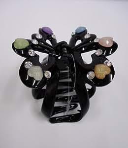 FANCY DIAMOND CLAW CLIPS ~ TORT CLIPS ~HAIR CLIPS