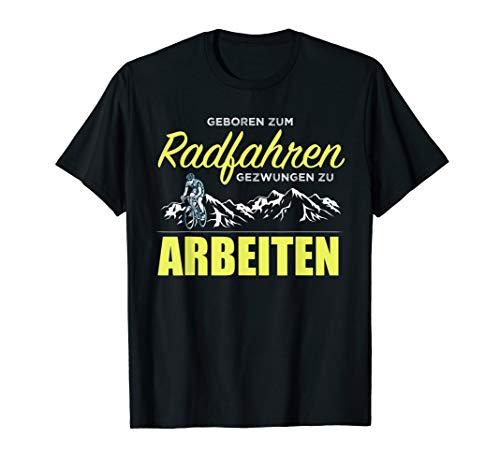 Mann Aus Den Bergen, Tee (Geboren Zum Radfahren T-Shirt | Rennrad Radfahrer Berge)