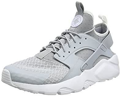Nike Men's Air Huarache Run Ultra Wolf GreyPale Grey White