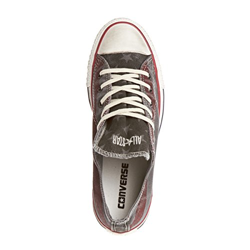 Converse Chuck Taylor All Star Washed Shoes - Turtledove/Chili Pepper Grau