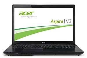 Acer Aspire V3-772G-747a8G1.12TWakk 43,9 cm (17,3 Zoll) Notebook (Intel Core i7 702MQ, 2,2GHz, 8GB RAM, 1TB HDD, 120GB SSD, NVIDIA GTX 850M, DVD, Win 8,1) schwarz