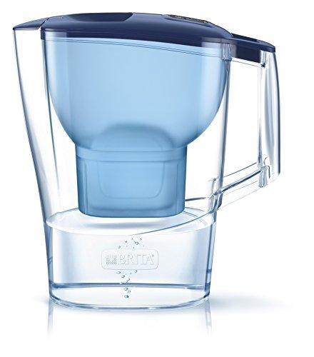 BRITA Aluna - Jarra agua filtrada con 1 filtro MAXTRA+, color azul