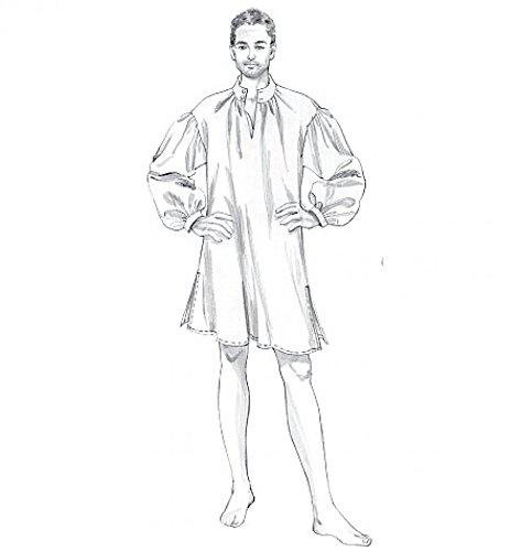 McCall 's Cosplay Herren Schnittmuster 2043historischen kolonial Kostüm (Historisches Herren Kostüm Muster)