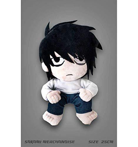 Unbekannt Death Note - L - Plüsch Figur (25cm) - original & lizensiert