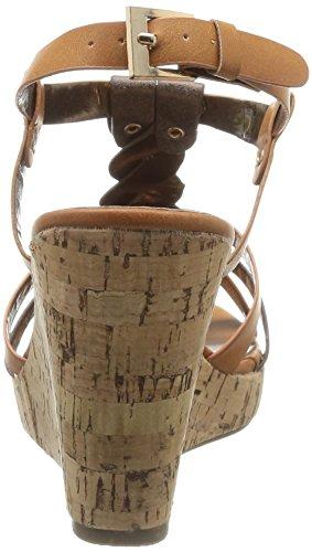 Initiale Reglisse, Damen Sandalen Braun - Marron (Tan/Bronze)