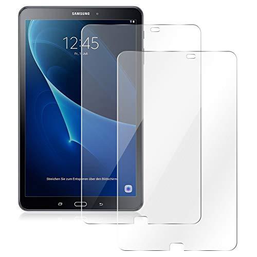 UC-Express Schutzfolie passend für Samsung Galaxy Tab A6 10.1 2016 Displayschutz 2X Folie Panzerfolie (Galaxy Tab 2 Display-schutzfolie)