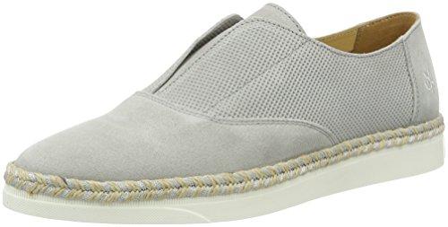 Marc O'Polo Damen 70113993201300 Loafer Slipper, Grau (Stone), 40 EU -