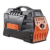 WANGTAO 500W/296Wh Portable Generator Uninterbable Power Supply Sine Wave Inverter Mit Dual 110-240V AC Outlet Und 4 USB-Ports Für Camping Und Indoors,Orange