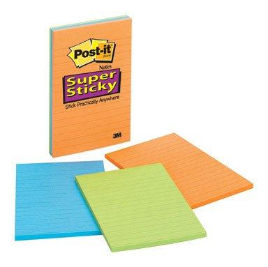 Preisvergleich Produktbild 3 M 4645–3SSANT 10, 2 x 15, 2 cm Sticky Notes,  verschiedene Farben