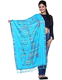 TEXAS Women's Shawl (Blue)