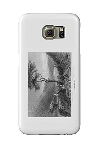 Harper's Ferry, West Virginia - Jefferson's Rock View of the Shenandoah Valley (Galaxy S6 Cell Phone Case, Slim Barely There)