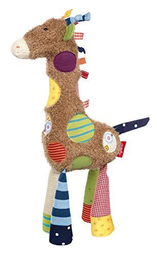 sigikid, Mädchen und Jungen, Stofftier Giraffe Sweety, Braun/Bunt, 38300 - Giraffe 36 Kuscheltier