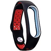 Correas para Relojes Deportivos Mi Band 2, Malloom Smart Wristband Correa de Pulsera de Recambio,Impermeable,Ligero y Ventilar para Xiaomi mi Band 2 (D)