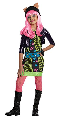 Monster Kostüm High Howleen - Monster High Kinder Kostüm Howleen 13 Wishes Gr.M