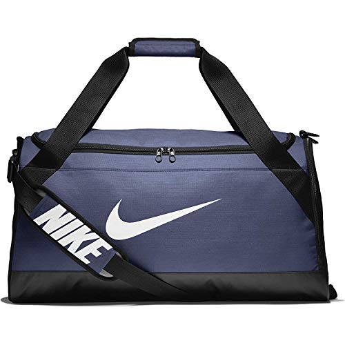 Nike Brasilia Medium Training Sac de Voyage, Mixte Adulte, Midnight Navy/Black/White, Medium
