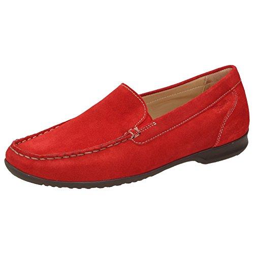 Sioux  60081, Mocassins pour femme rouge Rot Rouge