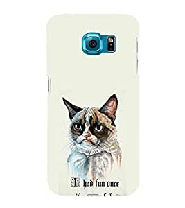 EPICCASE I had fun once it was awful Mobile Back Case Cover For Samsung Galaxy S6 Edge Plus (Designer Case)
